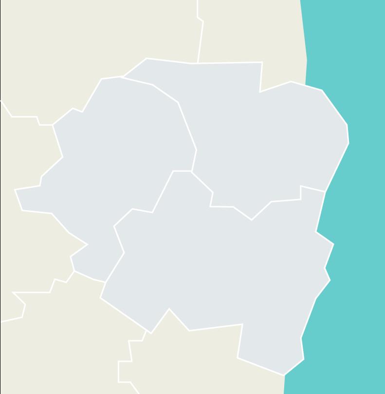 いすみ市の地図